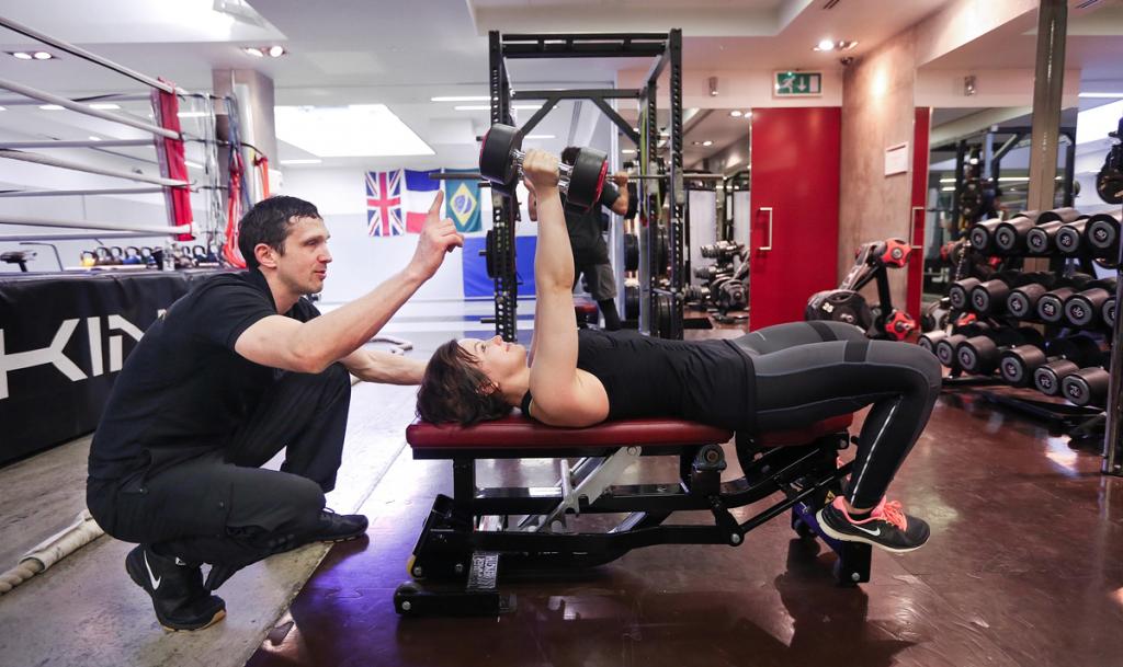 Derry training client